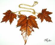 Мастер-класс: Листья из полимерного пластика с поталью.