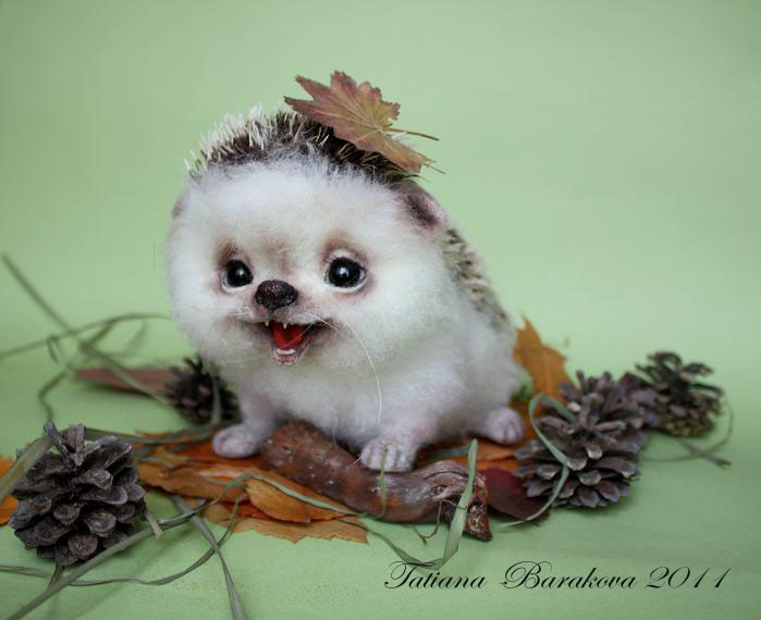 Фото поделка из ракушек на тему осень