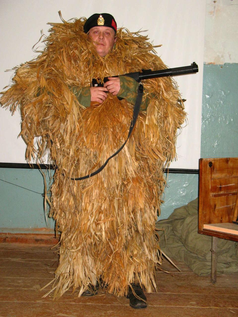 Сделать костюм лешего для охоты своими руками 12