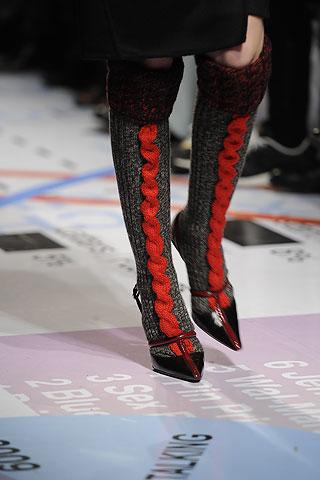 Показ Prada на Неделе моды в Милане.