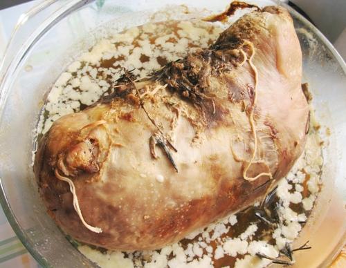 Фаршированный свиной желудок рецепт