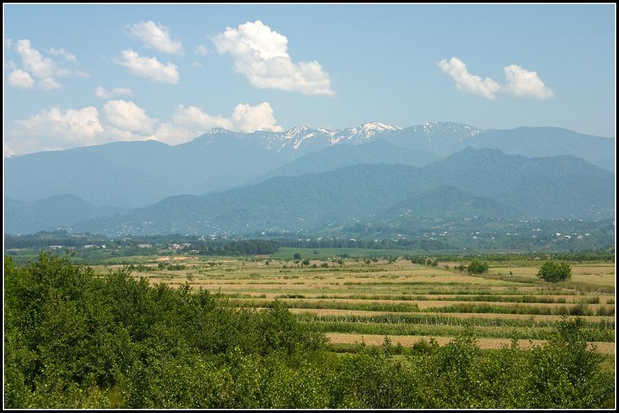 Горы в Аджарии