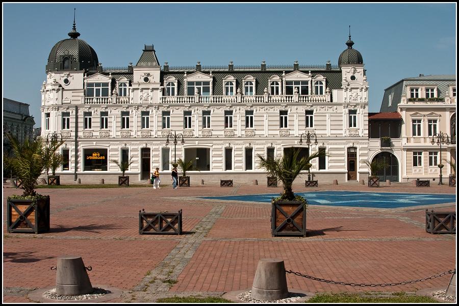 Центральная площадь Батуми