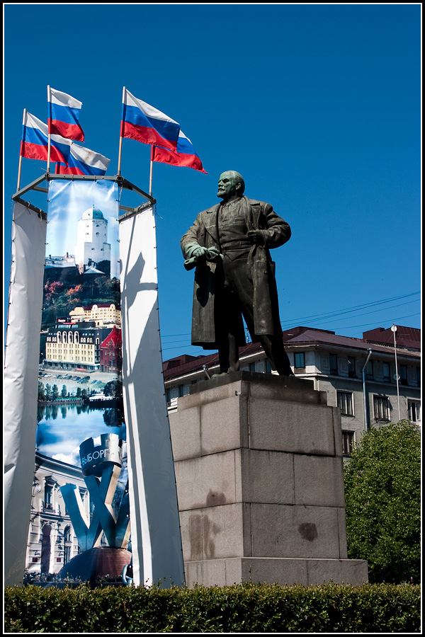 Ленин в Выборге