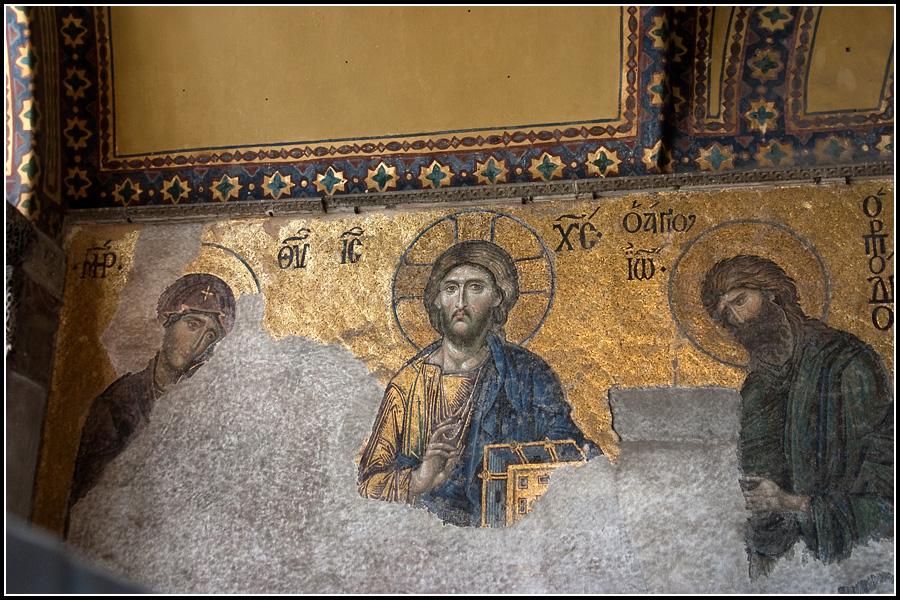 Христос в Айя-Софии
