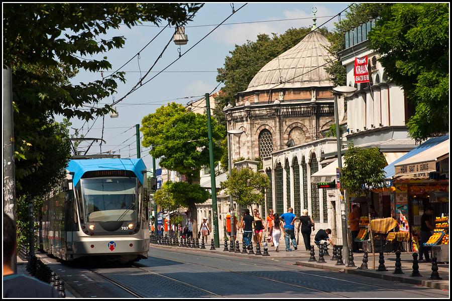 Новый стамбульский трамвай