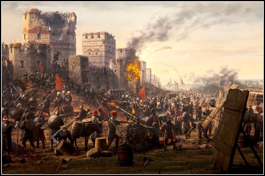 Штурм Константинополя