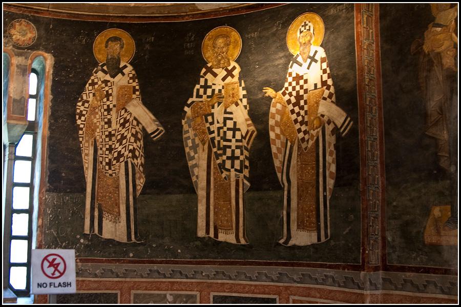 Византийские фрески