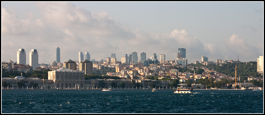 Небоскребы Стамбула