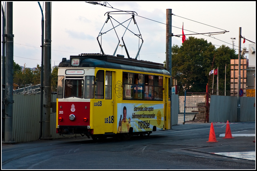 Трамвай в Моду