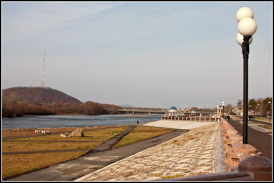 Набережная реки Бира