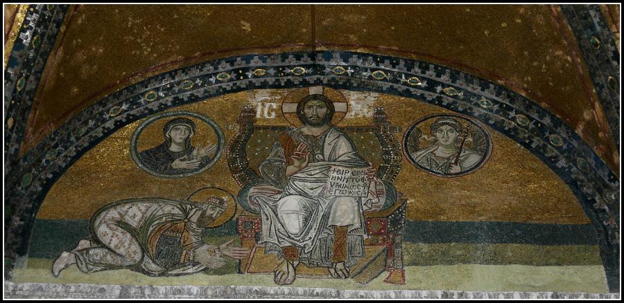 Мозаика в Айя-Софии