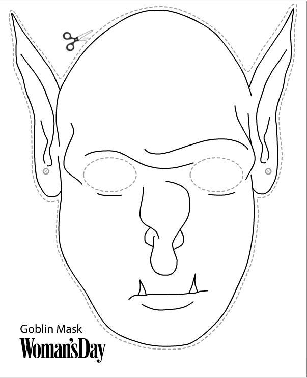 Как сделать страшные маски на хэллоуин
