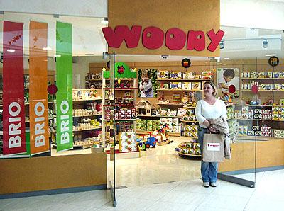 Добро пожаловать в магазин игрушек Woody!