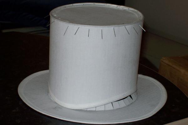 Шляпки цилиндр своими руками