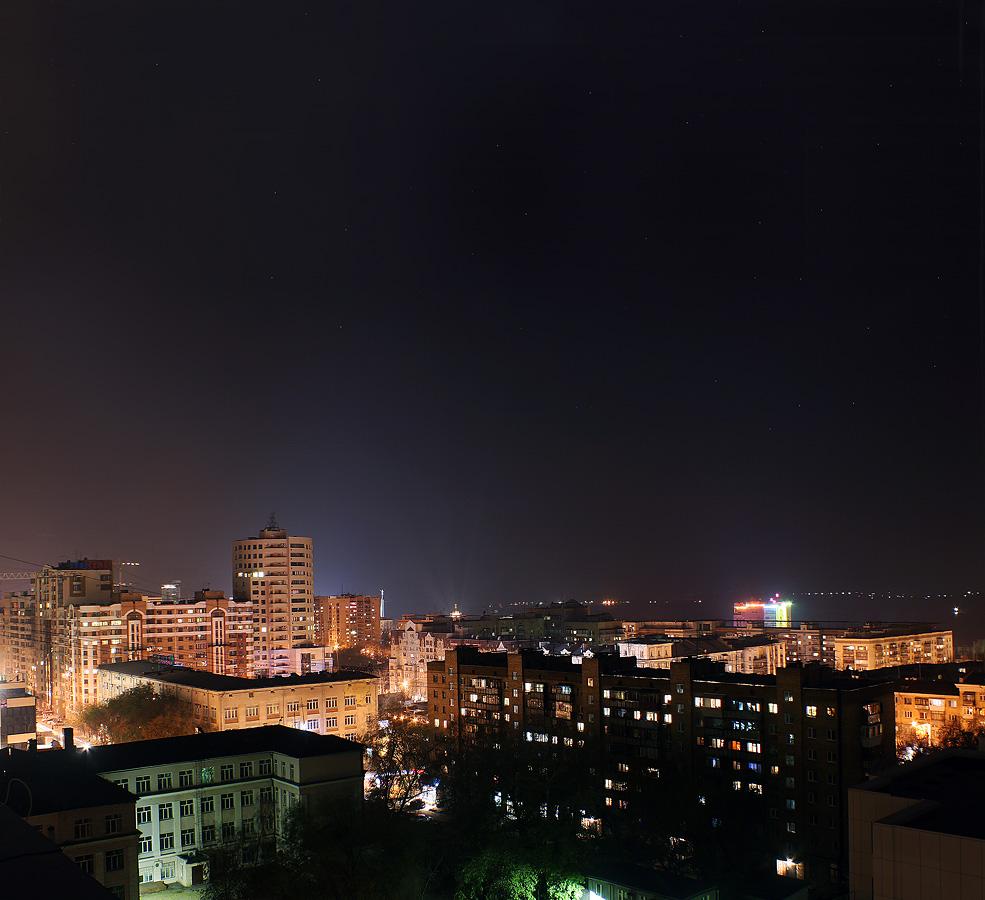 фото ночная самара
