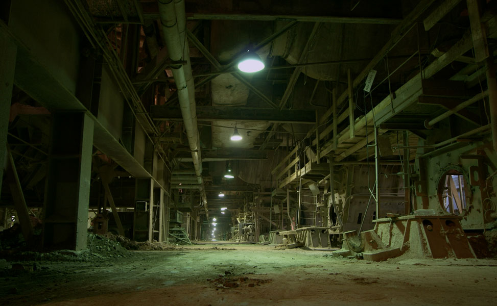 Abandoned - Factory on Pinterest | Abandoned, Factories ...  Abandoned - Fac...