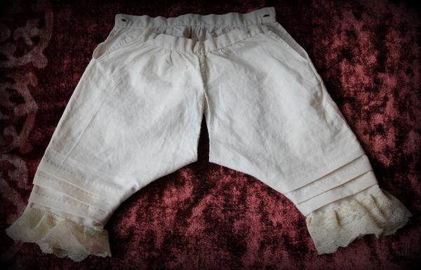 Сшить панталоны как у куклы 834