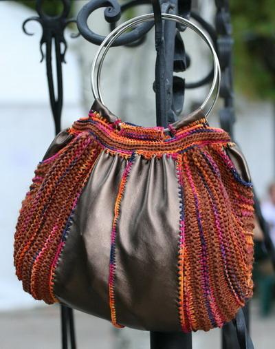 сумки пляжные летних вязанных крючком со схемой.