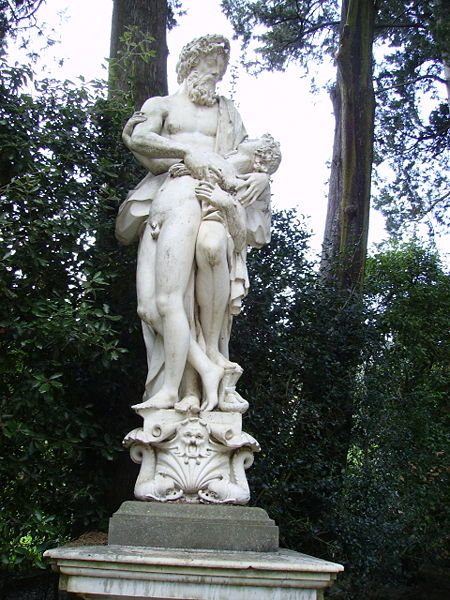 Асклепий воскрешает Ипполита.