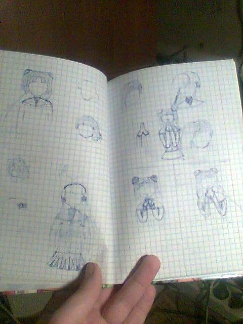 как подписать тетрадь по-английски фото