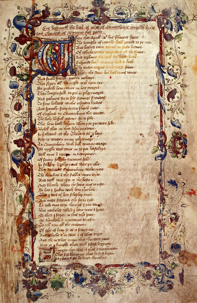 chaucers canterbury tales essay Sample essay topic, essay writing: canterbury tales essay - 425 words in geoffrey chaucer's the canterbury tales, many characters suffer from dante's seven deadly sins i have chosen to write about the skipper, for his avariciousness and wrath the.