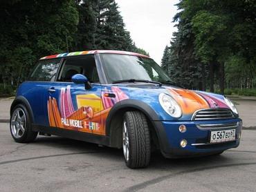 PallMobill и его тюнингованный MINI Cooper