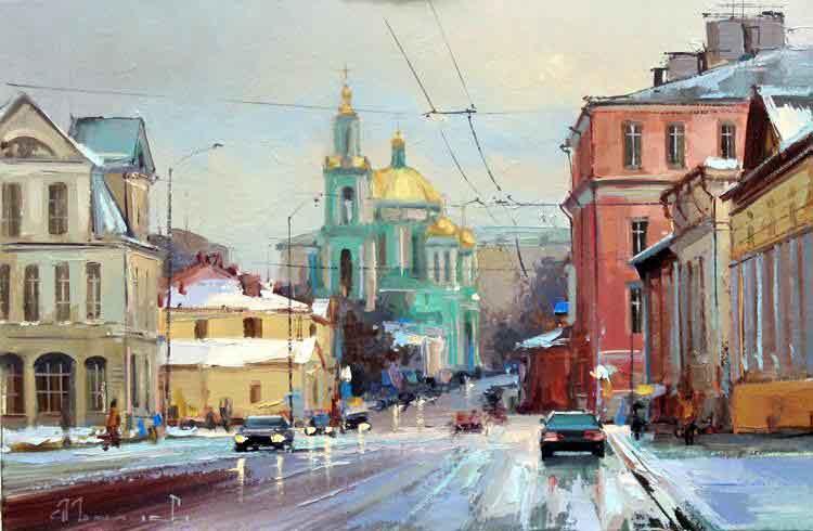 Елоховский собор. Худ. А. Шалаев