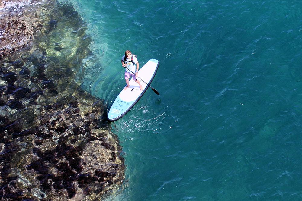 Надувной SUP пэдлборд EZ доска для серфинга