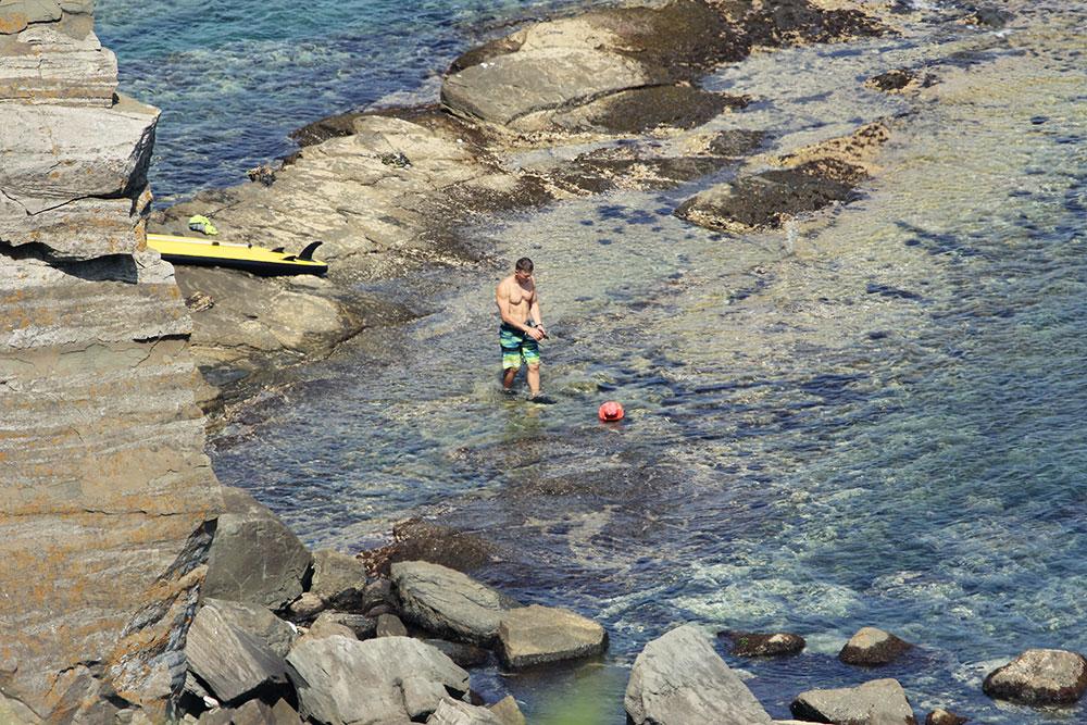 Надувная доска для серфинга с веслом SUP