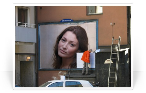 Photofunia Effects Swedish Billboard