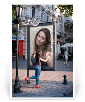 effect with your photo please visit following URL http://photofunia ...