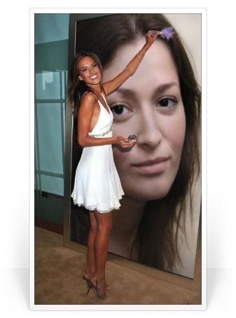 Photofunia Effects Applying Makeup