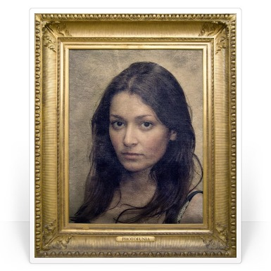 This effects will help you put your photo in a classic frame. You can