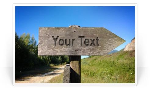 Photofunia text