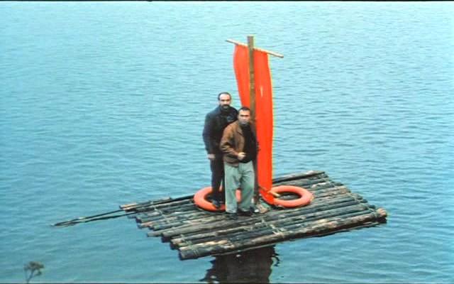 лодка чурок