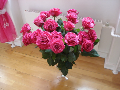 а алые розы: