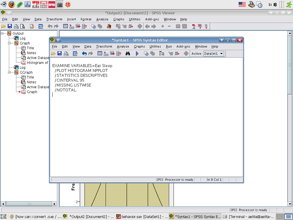 SPSS 16.0 for Linux