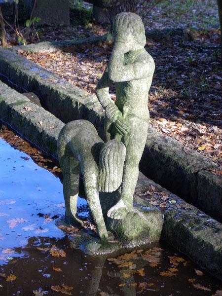 Скульптура и минет