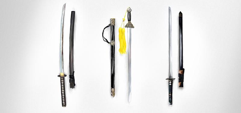 Как должен выглядить настоящий меч ниндзя: синоби-гатана или ниндзя-то