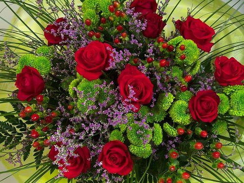 Фото цветов с поздравлениями 43