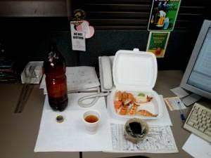 Ужин офис-самурая