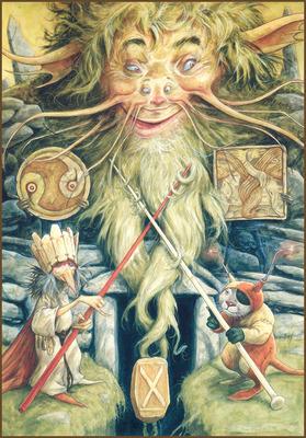 Гебо руна Th_Brian-Froud-runes-10
