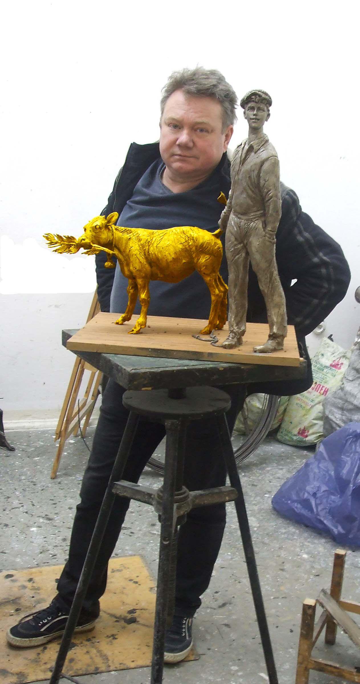 Ушел из жизни белорусский скульптор Владимир Жбанов