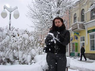 В Бобруйск зима пришла