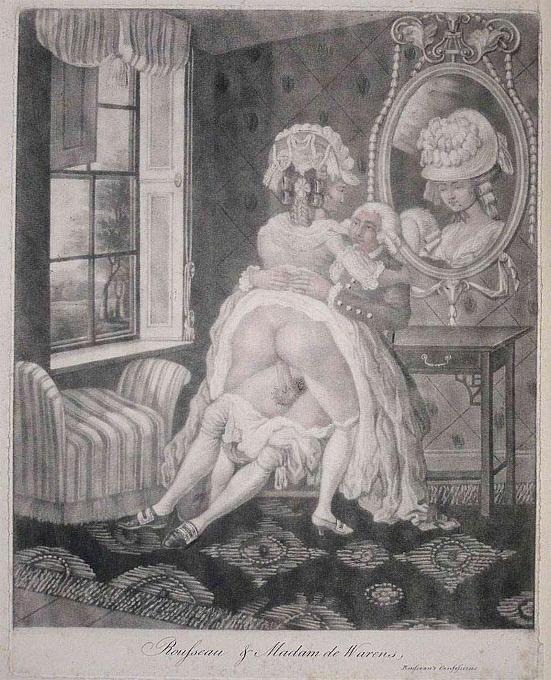 Старинные порно гравюры