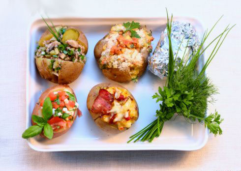 Крошка картошка начинки