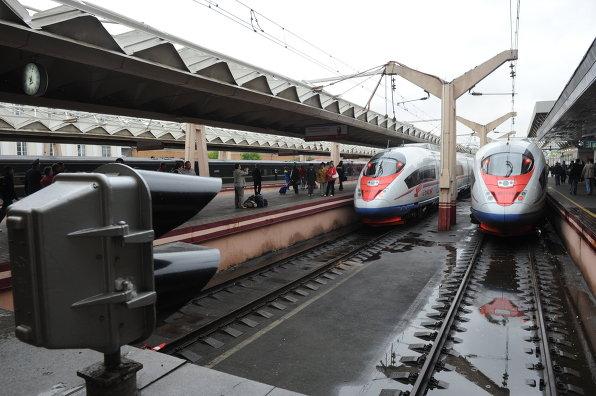 Поезд Сапсан расписание Москва Санкт Петербург Москва