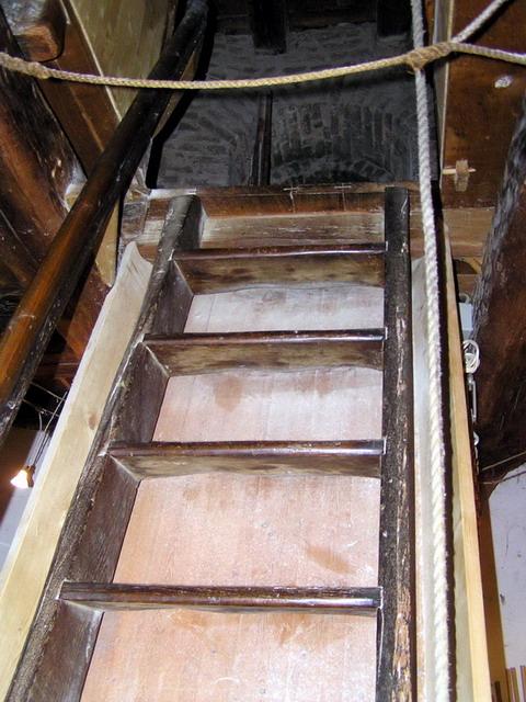 ксантен мельница лестница
