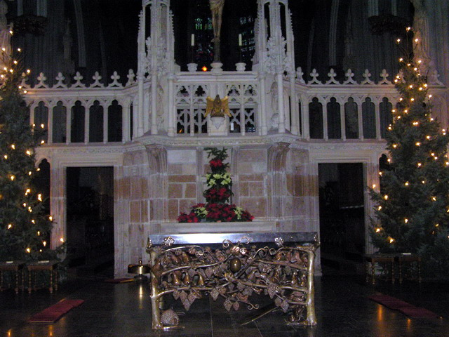 ксантен собор интерьер